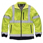 Hi-vis two tone soft shell jacket (SA2007)
