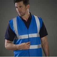 Hi vis 2 band and braces waistcoat (HVW100)