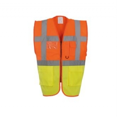 Multi-functional executive hi vis waistcoat (HVW801)