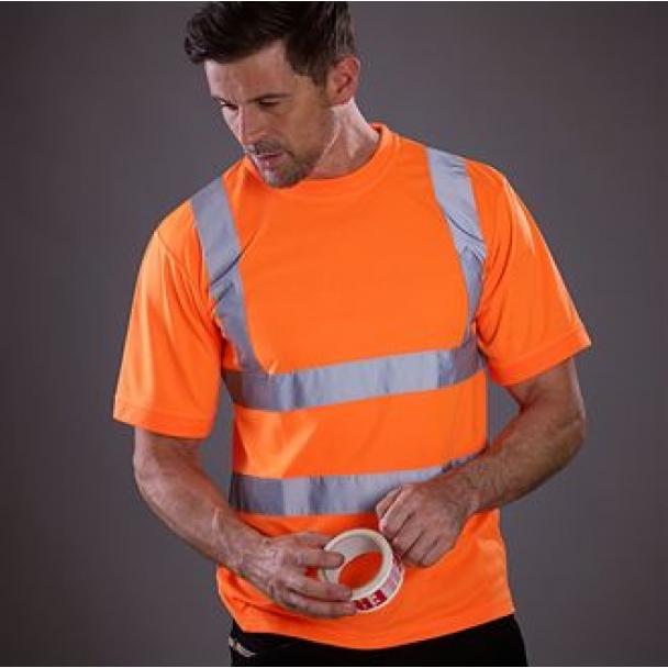 Hi vis short sleeve t-shirt (HVJ410)