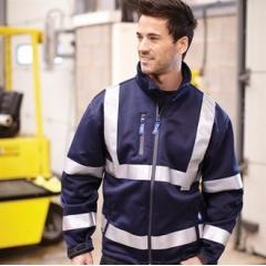 Hi vis softshell jacket (HVK09)