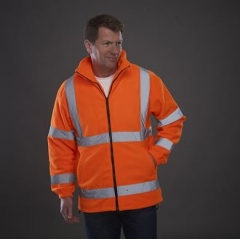 Hi vis heavyweight fleece jacket (HVK08)
