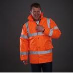 Hi vis classic motorway jacket (HVP300)