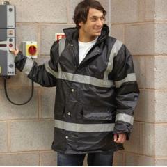 Hi vis security jacket (HVP301)