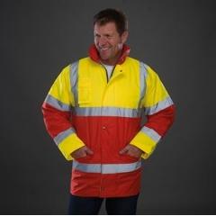 Hi vis contrast jacket (HVP303)