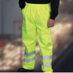 Hi vis waterproof overtrousers (HVS461)
