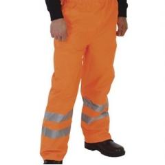 Hi vis waterproof overtrousers (HVS462)
