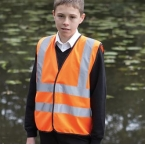 Kids hi vis 2 b&b waistcoat (HVW100CH)