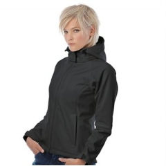Hooded softshell /women