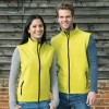 Women's printable softshell bodywarmer