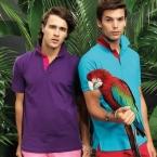 Men's classic fit - contrast polo