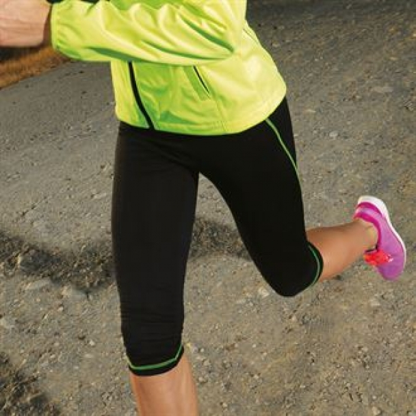 Women's Capri TriDri fitness leggings