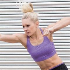 Women's fitness crop top