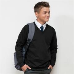 Academy v-neck sweatshirt