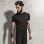 McBose - long length curved hem t-shirt