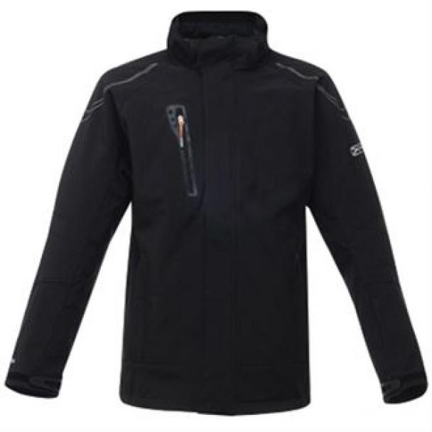 Peakzone II lined hooded softshell