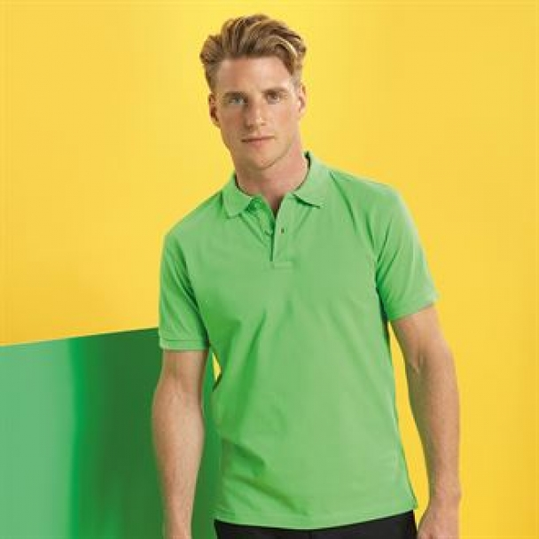 Men's classic fit performance blend polo