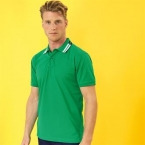 Two colour tipped polo