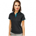Women's contrast Coolchecker® polo