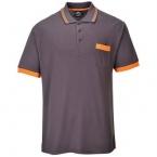 Texo contrast polo shirt (TX20)