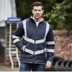 Hi-vis Kensington fleece lined jacket (HVW706)