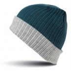 Double-layer knitted hat