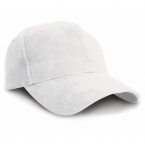 Pro-style heavy cotton cap with sandwich peak