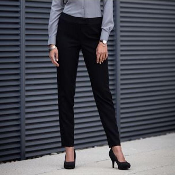 Women's tapered leg trousers
