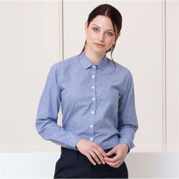 women039s-gingham-pufy-wicking-long-sleeve-shirt