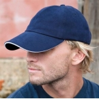 memphis-brushed-cotton-low-profile-sandwich-peak-cap