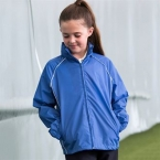 Kids showerproof training jacket