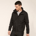Fleece-lined blouson jacket