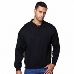 Coloursure™ polo plaquet sweatshirt