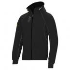 Zipped logo hoodie (2816)