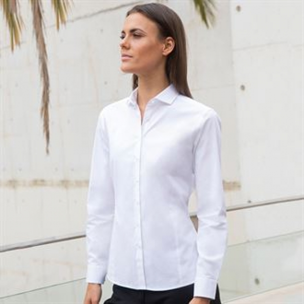Women's long sleeve stretch shirt
