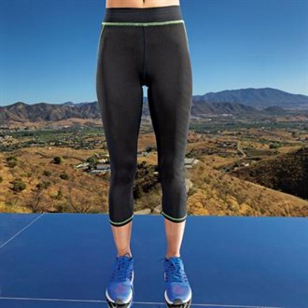 Women's TriDri® capri fitness leggings