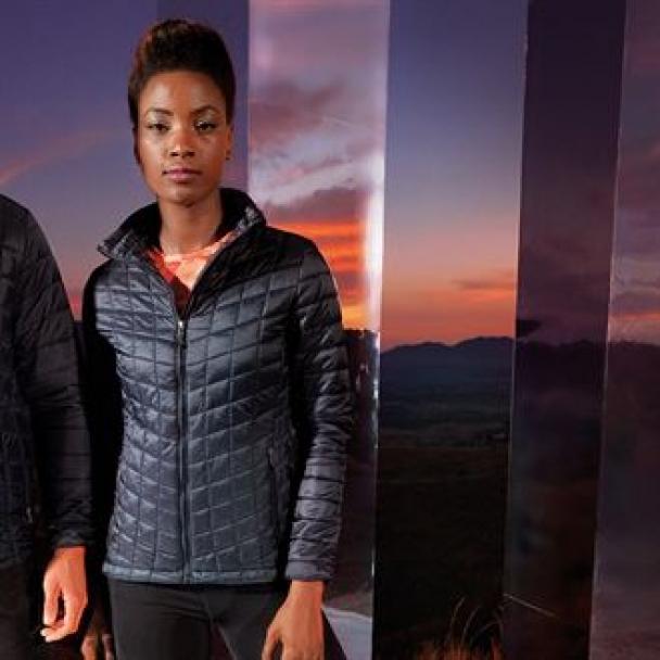 Women's TriDri® ultralight thermo quilt jacket