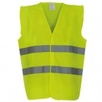 Hi-vis 2-band waistcoat (HVW102)