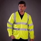 Hi-vis long sleeve waistcoat (HVJ200)