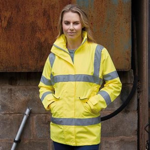 Women's hi-vis executive jacket (HVP189)