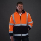 Hi-vis heavyweight fleece jacket (HVK08)