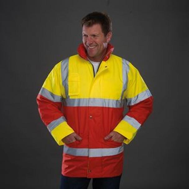 Hi-vis contrast jacket (HVP303)