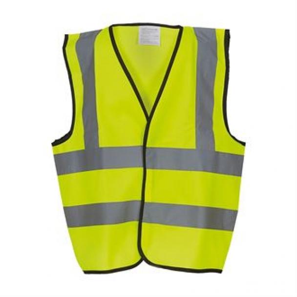 Kids hi-vis 2 b&b waistcoat (HVW100CH)