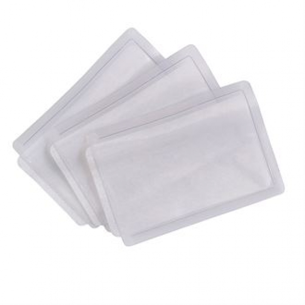 Heat-apply ID pockets (ID04/ID05/ID06) (Packs of 50)