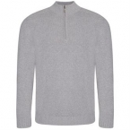 Wakhan ¼ zip knit sweater