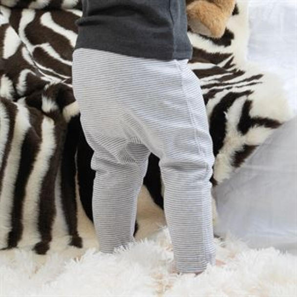 Baby stripy Jersey leggings