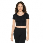 Cotton Spandex Jersey crop tee (RSA8380)