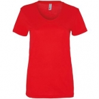 Poly-cotton short sleeve women's tee (BB301)