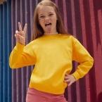 Classic 80/20 kids set-in sweatshirt