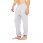 Unisex polycotton fleece long scrunch pant